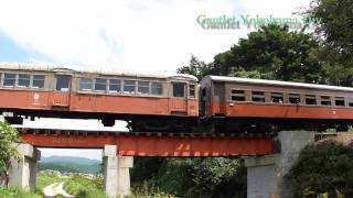 津軽鉄道80周年 深郷田-津軽中里 DD352+ナハフ1200