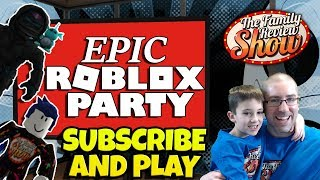 Epic Roblox Party - Finalmente estamos monetizados!!!!