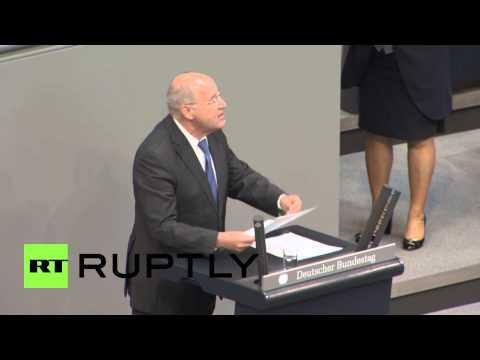 Germany: Die Linke head reminds Merkel of WWII debt ahead of Greece vote