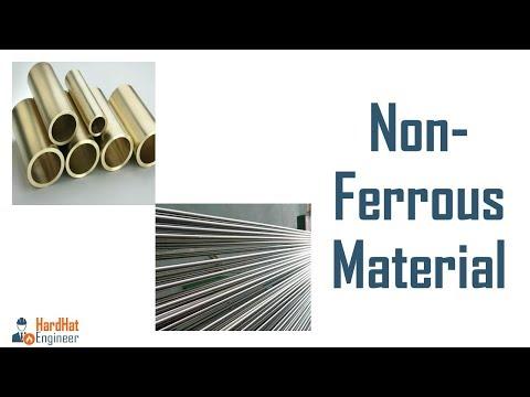 Non-ferrous Material - Copper, Nickel, Aluminum, Titanium