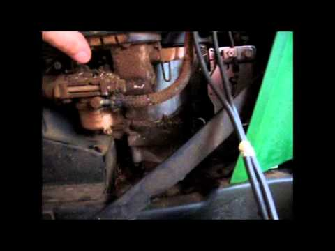 John Deere 165 Carb Fail Youtube