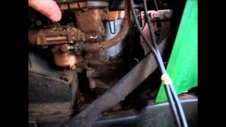 John Deere 165 Carb fail