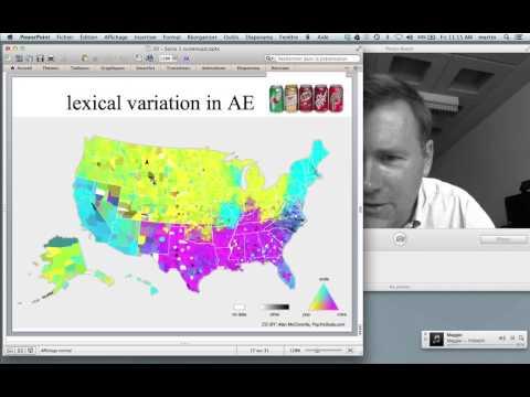 Sociolinguistics - the study of variation in language