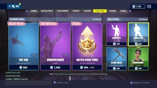 SHOP OF ITEMS TODAY FORTNITE 26/11. NEW SKINS!?
