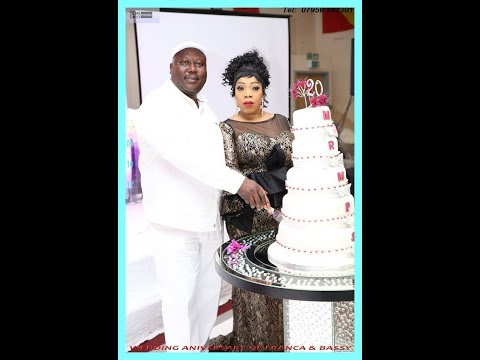 WEDDING ANNIVERSARY OF FRANCA & BASHY part 2
