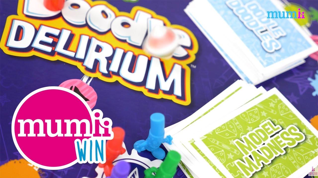 WIN 1 Of 3 Crayola Doodle Delirium Games