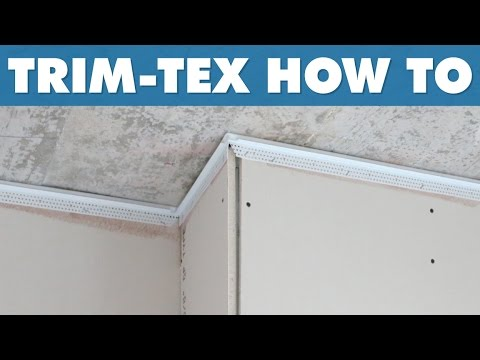 Trim Tex How To Installing Deflection Bead Youtube