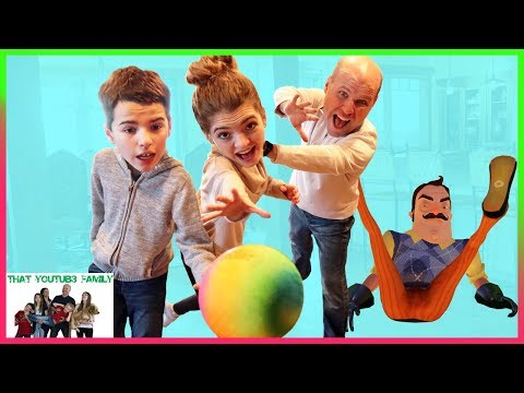 Hello Neighbor In Real Life Hide And Seek / That YouTub3 Family I Family Channel