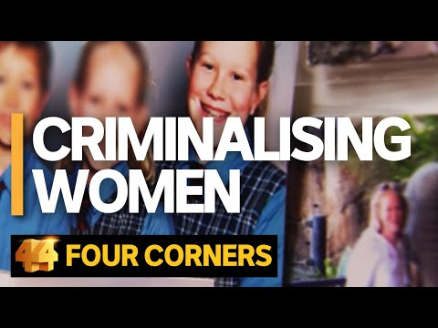 Why Are So Many Women Going To Jail?   Four Corners
