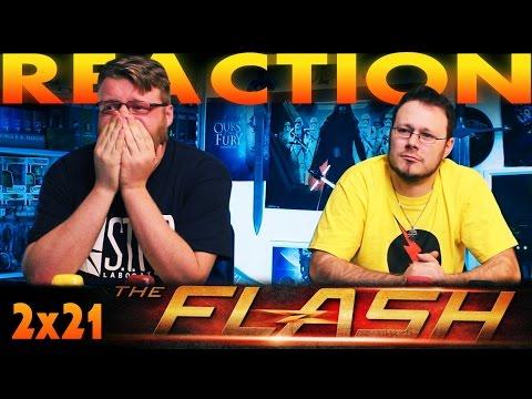 "The Flash 2x21 REACTION!! ""The Runaway Dinosaur"""