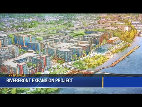New Development Planned Along River In Downtown Nashville Area
