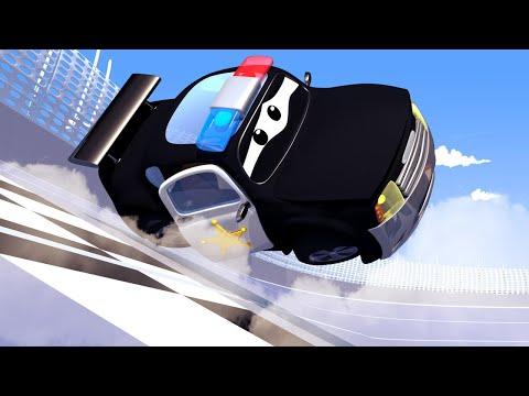 Çekici Tom  - Polis Arabası Matt'in Sireni Bozuldu - Araba Şehri 🚚  Çocuklar için çizgi filmler indir