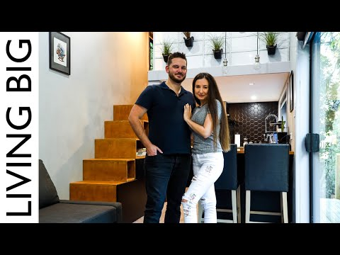 Urban Industrial Tiny House is a Tiny Mansion