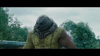 Juggernaut vs colossus HD fight scene (deadpool 2) welcome to the party latino