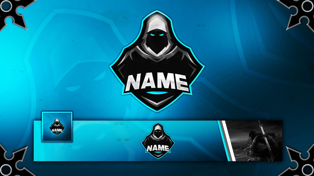 FREE Gaming Clan Mascot Logo   Banner   Avatar Template   YouTube FREE Gaming Clan Mascot Logo   Banner   Avatar Template