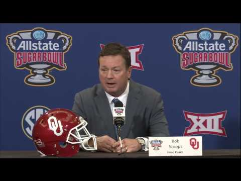 Jan 1 2017 OU Head Coach Bob Stoops Sugar Bowl Press Conference