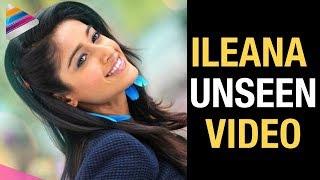 Actress Ileana Unseen Video | Ileana Swimming Pool Video | Celebrities Videos | Telugu Filmnagar