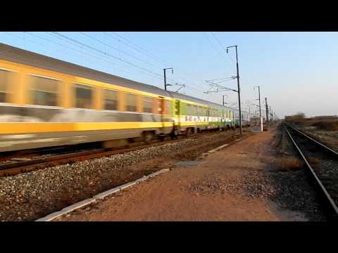 Train Corail TEOZ Clermont-Ferrand Paris à Pleine Vitesse