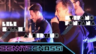 Albertino, Lele Sacchi e Stefano Fontana @ Benny Benassi & Italian Friends