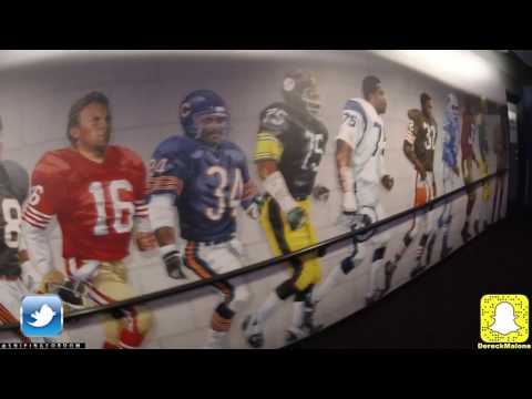 FOOTBALL HALL OF FAME (With Special Guest) VLOG