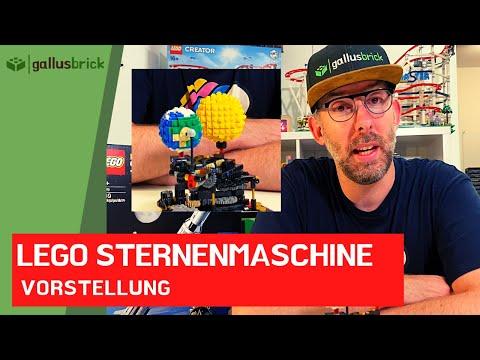 Die LEGO Sternenmaschine/Orrery von JK Brickworks nachgebaut!