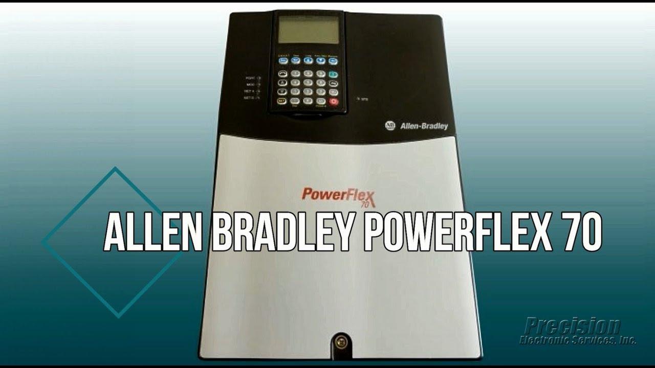Allen Bradley PowerFlex 70 Repair | Precision Electronic Services