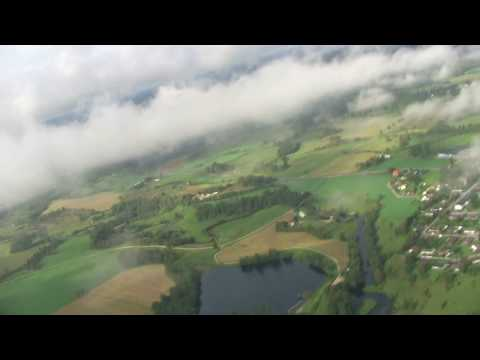 paramotor above clouds ulricehamn sweden