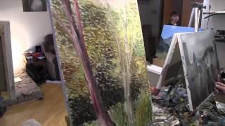Импрессионизм для начинающих, уроки живописи в Москве, художник Игорь Сахаров