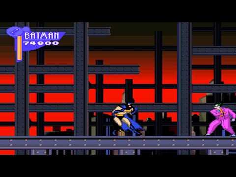 Adventures of Batman & Robin (SNES) Final Boss : Joker & Co. (no damage) + Ending