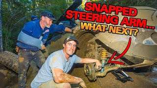 6km IN 3 DAYS.... Did we get this 4WD out? Tassie $1000 Track Part 2!