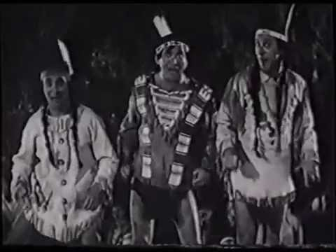 """The Ritz Brothers - """"Life Begins in College"""" - Indian Dance (1937)"""