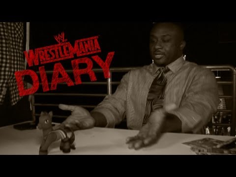 "WrestleMania 29 Diary - Big E Langston receives a customized ""Big E Langston My Little Pony"""