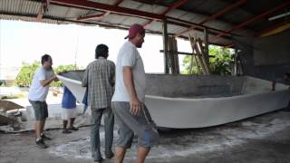 Building a 28 foot Quepos Charter Fishing Boat!
