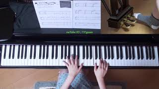 使用楽譜;月刊ピアノ2017年9月号、 採譜者:内田悦子(Piano×PTNA 編曲...