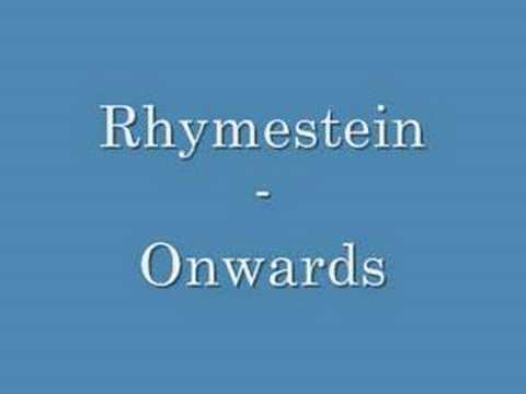 Rhymestein - Onwards