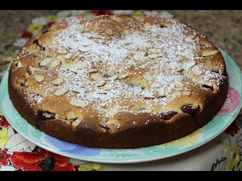 Raspberry-Almond Cake 'Irinka