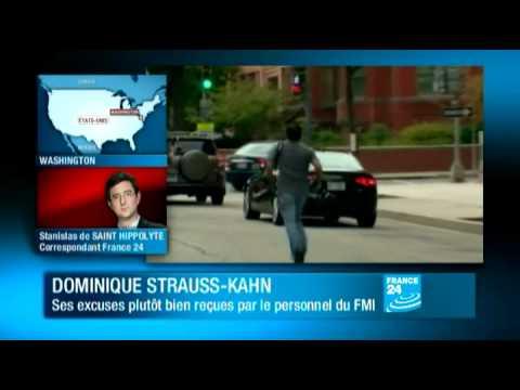 Dominique Strauss-Kahn : Ses excuses bien reçues par le personnel du FMI