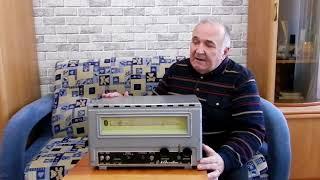 видео: Мечта радиолюбителей 60 - 70 годов, радиоприемник Казахстан.