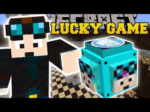 Thumbnail: Minecraft: DANTDM LUCKY BLOCK CHALLENGE - Modded Mini-Game