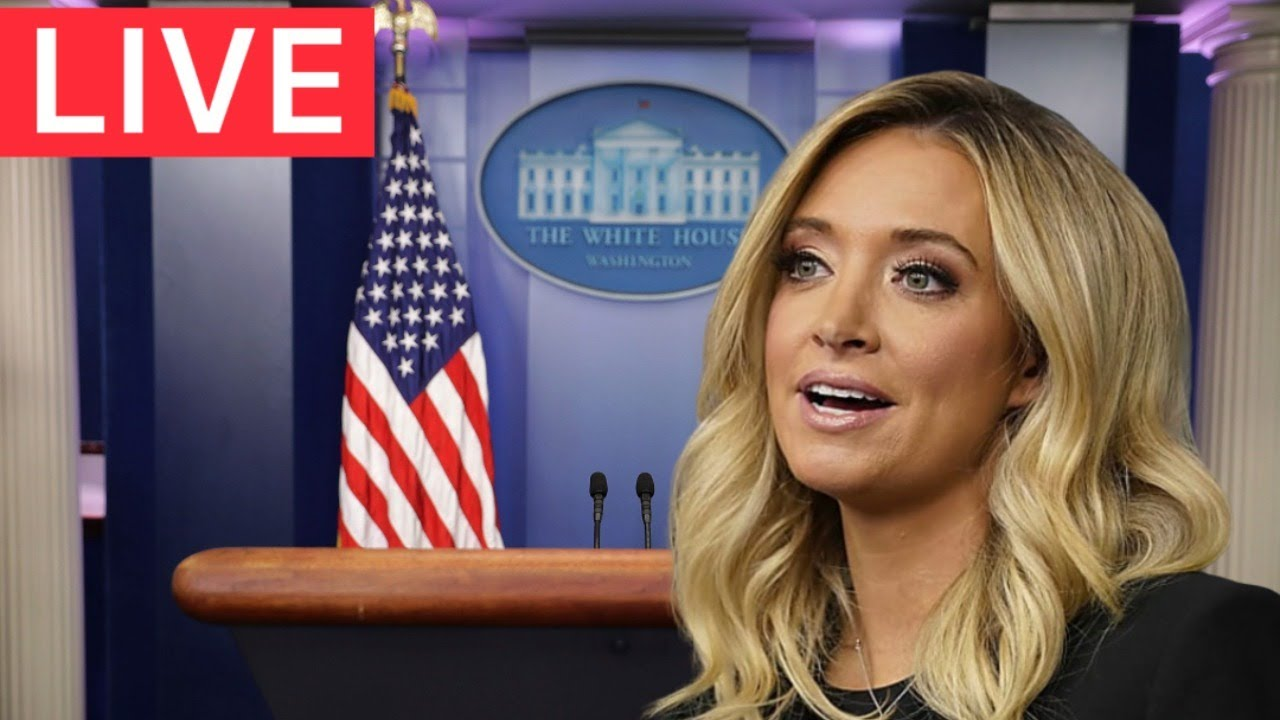 ?LIVE: White House Press Briefing with Press Secretary Kayleigh McEnany