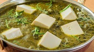 #PALAKPANEER పాలక్ పన్నీర్ ఇలా చేసుకుంటే రుచి అదిరిపోతుంది | How to make Tasty Palak Paneer