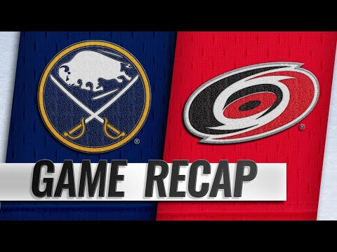 Aho, Ferland lead Hurricanes past Sabres, 4-3