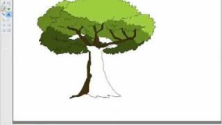 Repeat youtube video วาดรูปต้นไม้ โปรแกรมpaint