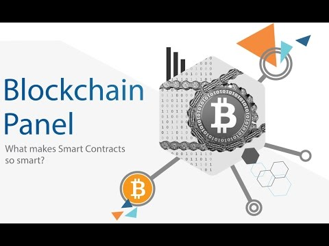 What Makes Smart Contracts so smart? - Temenos Blockchain Panel