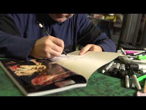 Walt Flanagan Draws! Ep: 3 THE JOKER on SModCo Internet Television streaming vf