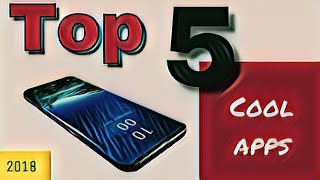 Top 5 amazing apps for android in hindi //5 cool apps for you guys //#tggyan
