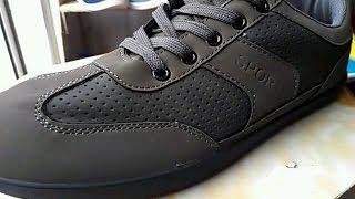 Обзор обуви! Кроссовки  SPORT TROPS  коричневого  цвета