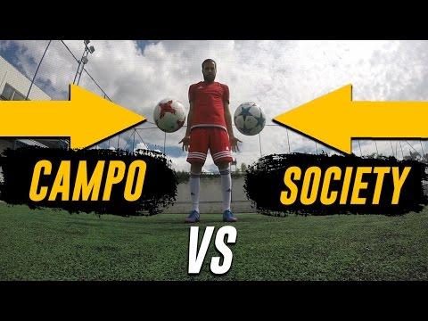 Bola Society vs Bola Campo - Você sabe a diferença?