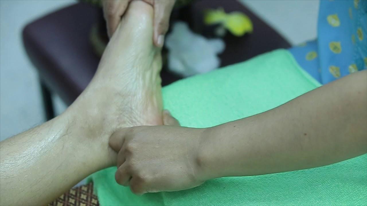 การนวดเท้าเพื่อสุขภาพ