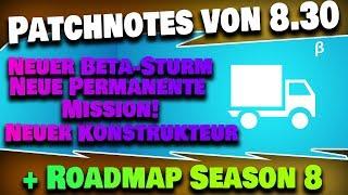 8.30 Patchnotes & Roadmap   Fortnite Save the World